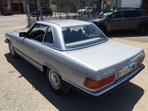 1979 MERCEDES SL450 HARDTOP BOOK SERVICE For Sale (picture 3 of 6)