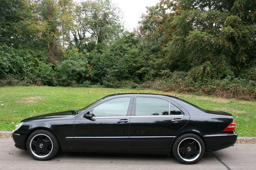 Mercedes S55 L AMG.. Rare LWB.. Low Miles + FSH.. Top Spec SOLD (picture 1 of 6)