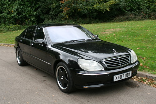 Mercedes S55 L AMG.. Rare LWB.. Low Miles + FSH.. Top Spec SOLD (picture 2 of 6)