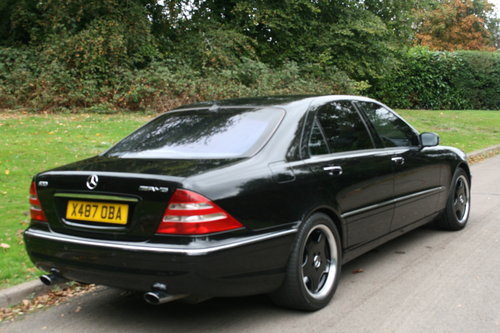 Mercedes S55 L AMG.. Rare LWB.. Low Miles + FSH.. Top Spec SOLD (picture 5 of 6)