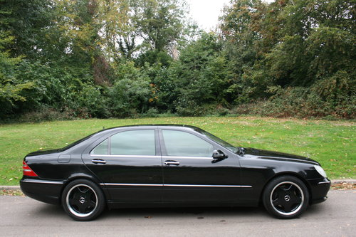 Mercedes S55 L AMG.. Rare LWB.. Low Miles + FSH.. Top Spec SOLD (picture 6 of 6)
