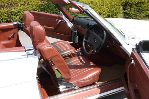 1982 Mercedes 500SL W107 only 32,000 miles -immaculate For Sale (picture 6 of 6)