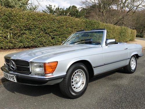 1984 Mercedes 500SL V8 - 96,000 MILES - SUPERB HISTORY SOLD (picture 1 of 6)