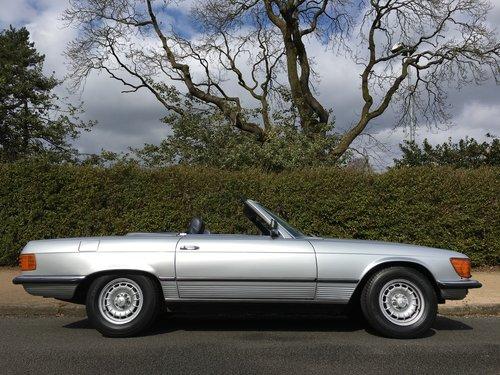 1984 Mercedes 500SL V8 - 96,000 MILES - SUPERB HISTORY SOLD (picture 2 of 6)