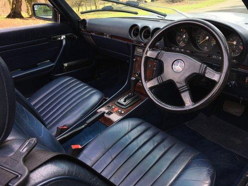 1984 Mercedes 500SL V8 - 96,000 MILES - SUPERB HISTORY SOLD (picture 5 of 6)