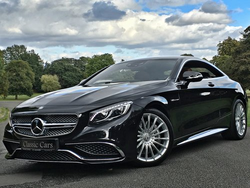 2015 Mercedes S65 AMG V12 Coupe - INCREDIBLE CAR - 630 BHP SOLD (picture 1 of 6)