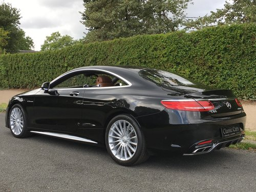 2015 Mercedes S65 AMG V12 Coupe - INCREDIBLE CAR - 630 BHP SOLD (picture 3 of 6)