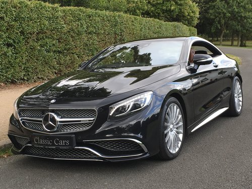 2015 Mercedes S65 AMG V12 Coupe - INCREDIBLE CAR - 630 BHP SOLD (picture 6 of 6)