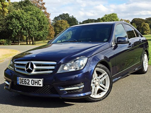 2012 Mercedes C220 CDI AMG Sport Automatic For Sale (picture 1 of 6)