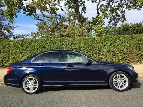 2012 Mercedes C220 CDI AMG Sport Automatic For Sale (picture 2 of 6)