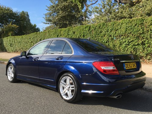 2012 Mercedes C220 CDI AMG Sport Automatic For Sale (picture 3 of 6)