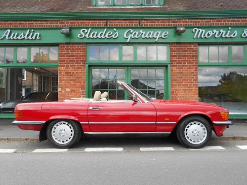 1988 Mercedes SL300 Automatic Convertible  For Sale (picture 1 of 4)
