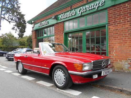 1988 Mercedes SL300 Automatic Convertible  For Sale (picture 2 of 4)