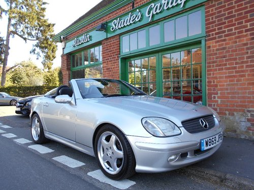 2000 Mercedes SLK 320  SOLD (picture 2 of 5)