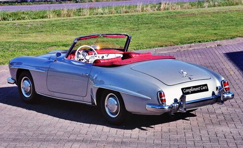 1959 Mercedes 190 SL € 114.900 For Sale (picture 2 of 6)