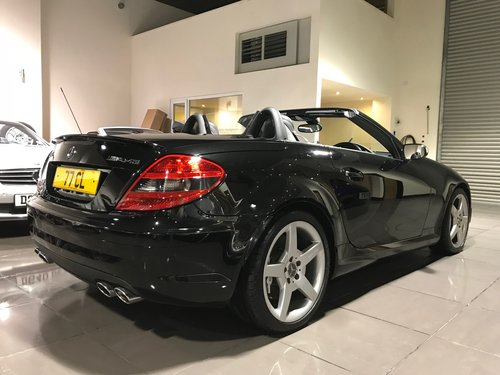 2006 56 MERCEDES SLK55 AMG TWO TONE LEATHER LUXURY CLIMATE For Sale (picture 3 of 6)