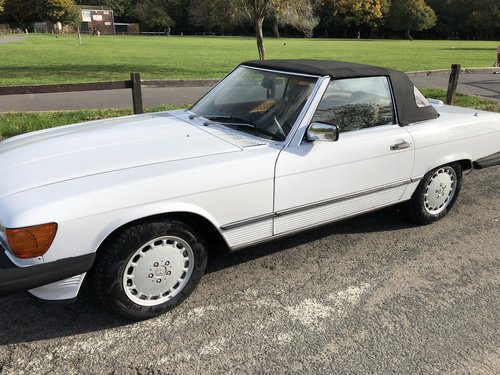 1988 Stunning Mercedes 560sl only 61,000 miles For Sale (picture 1 of 6)