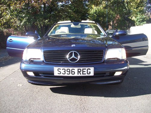 1998 Mercedes 320SL (R129) Automatic Convertible For Sale (picture 1 of 6)