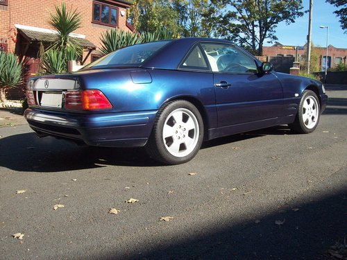 1998 Mercedes 320SL (R129) Automatic Convertible For Sale (picture 2 of 6)