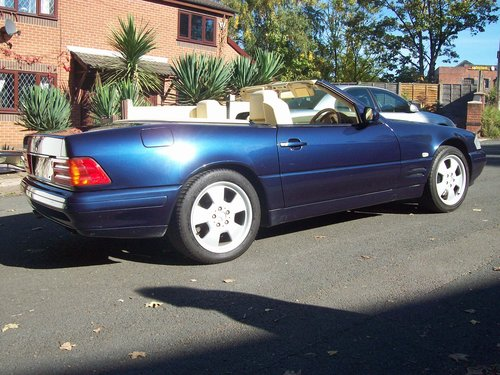 1998 Mercedes 320SL (R129) Automatic Convertible For Sale (picture 3 of 6)