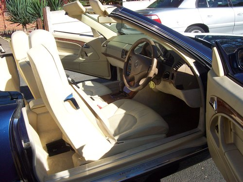 1998 Mercedes 320SL (R129) Automatic Convertible For Sale (picture 4 of 6)