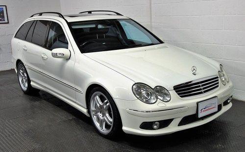 2005 Mercedes C55 AMG Estate,37,453 miles For Sale (picture 1 of 6)