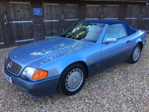 1992 Mercedes 300 SL ( 129-series ) For Sale (picture 1 of 6)