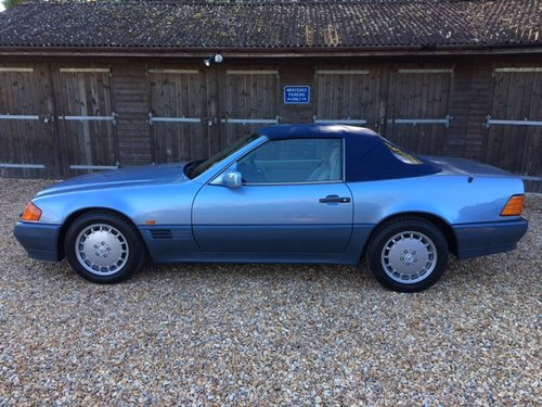 1992 Mercedes 300 SL ( 129-series ) For Sale (picture 2 of 6)