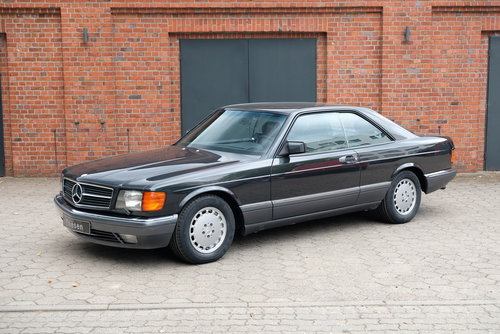 1990 Mercedes-Benz 560 SEC (C126) For Sale (picture 1 of 6)