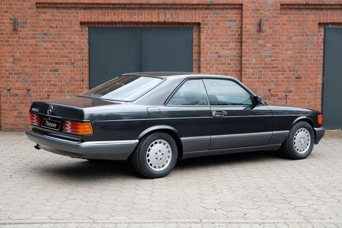 1990 Mercedes-Benz 560 SEC (C126) For Sale (picture 2 of 6)