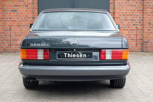 1990 Mercedes-Benz 560 SEC (C126) For Sale (picture 4 of 6)