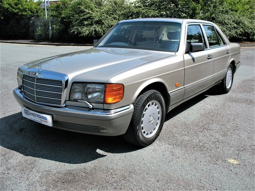 Mercedes W126 500SE 1991 'H' Reg, 99k Miles, Stunning Car!! For Sale (picture 1 of 6)