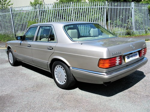 Mercedes W126 500SE 1991 'H' Reg, 99k Miles, Stunning Car!! For Sale (picture 2 of 6)