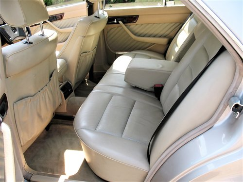 Mercedes W126 500SE 1991 'H' Reg, 99k Miles, Stunning Car!! For Sale (picture 4 of 6)