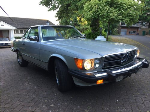 Mercedes 560SL 1986 one owner 84000mls For Sale (picture 5 of 6)