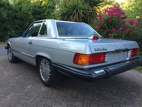 Mercedes 560SL 1986 one owner 84000mls For Sale (picture 6 of 6)