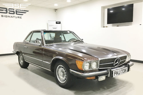 1972 Mercedes 450SL - Project For Sale (picture 1 of 6)