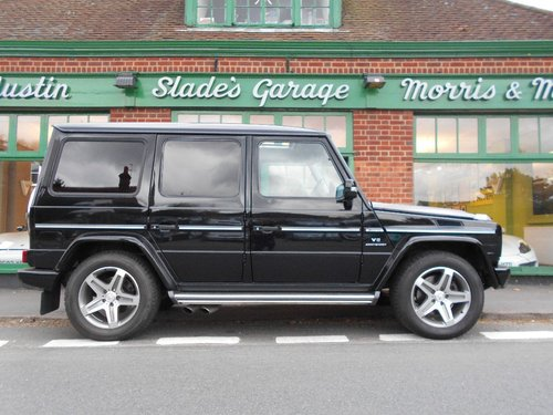 2008 Mercedes G55 AMG  SOLD (picture 1 of 5)