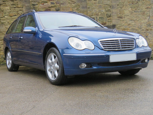 2003 Mercedes S203 C270 CDI Auto Est.- 76K - FSH - Very High Spec SOLD (picture 3 of 6)