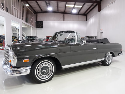 1968 Mercedes Benz 280SE Cabriolet SOLD (picture 1 of 6)