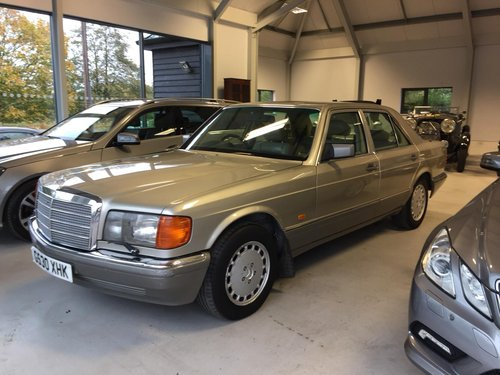 1989 mercedes benz 500 se saloon w126 sold car and classic. Black Bedroom Furniture Sets. Home Design Ideas