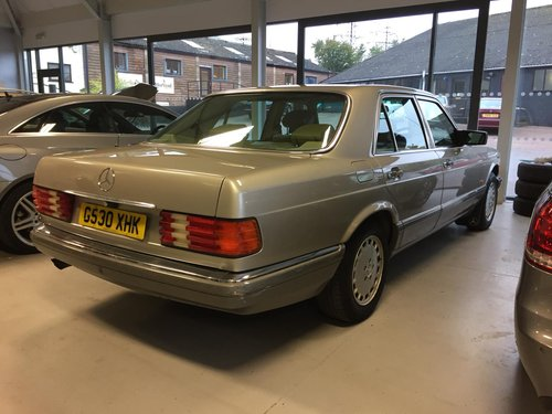 1989 Mercedes-Benz 500 SE Saloon W126 SOLD (picture 3 of 6)