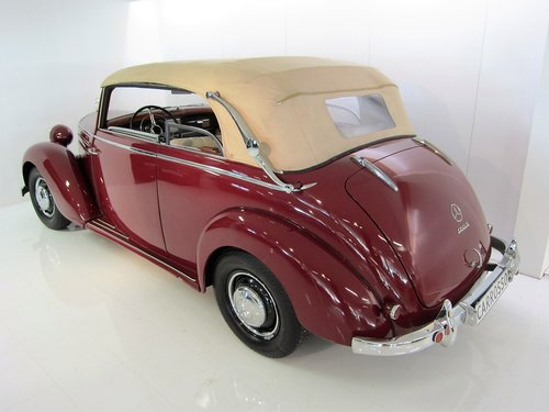 1950 Mercedes Benz 170S Convertible B  For Sale (picture 2 of 6)