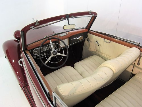 1950 Mercedes Benz 170S Convertible B  For Sale (picture 3 of 6)