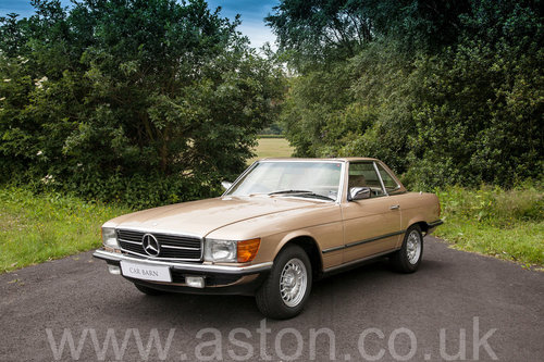 1984 Mercedes Benz 280SL  SOLD (picture 1 of 6)