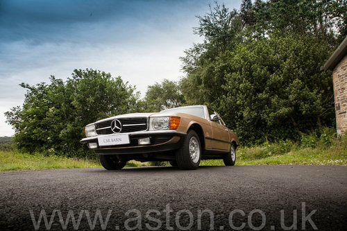 1984 Mercedes Benz 280SL  SOLD (picture 2 of 6)
