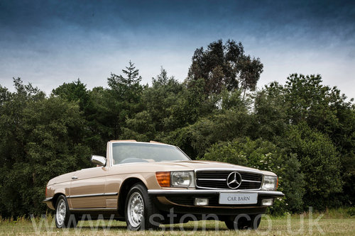 1984 Mercedes Benz 280SL  SOLD (picture 6 of 6)
