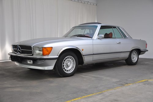 1972 Mercedes 350SC Coupe For Sale (picture 1 of 6)
