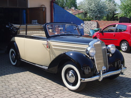 1951 Mercedes 170S Cabriolet For Sale (picture 2 of 6)