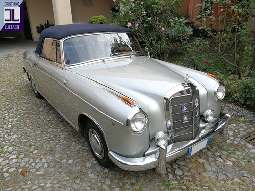 1957 MERCEDES BENZ 220 S CONVERTIBILE PONTON For Sale (picture 1 of 6)